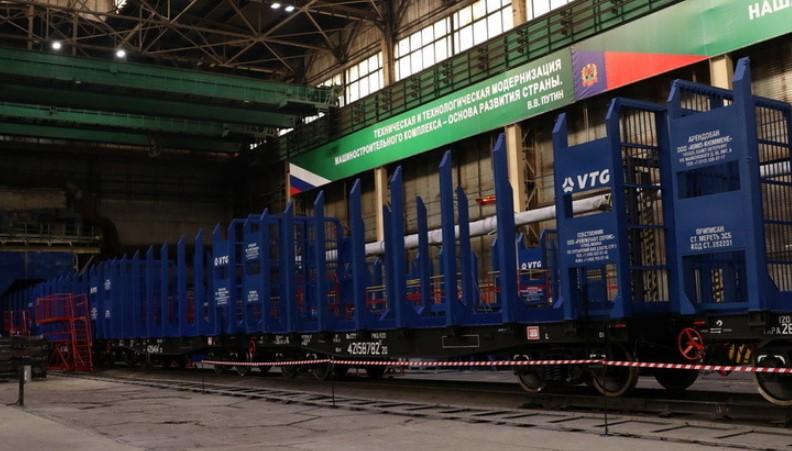 Линия производства железнодорожных платформ запущена вКемерово