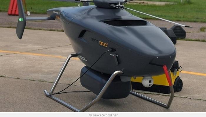 беспилотный вертолет VRT300