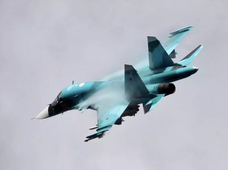 су -34 на низкой скорости
