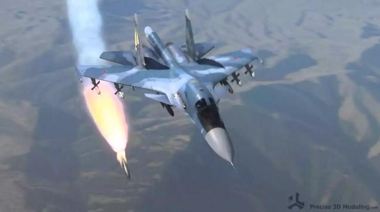 су-34 пуск ракеты