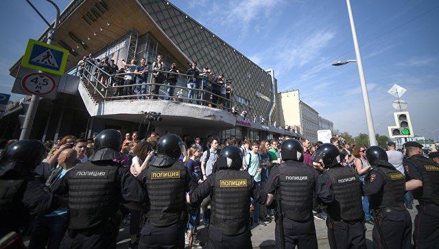 навальнята на демонстрации