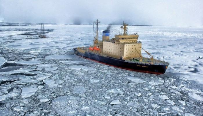 северный морской путь и ледокол