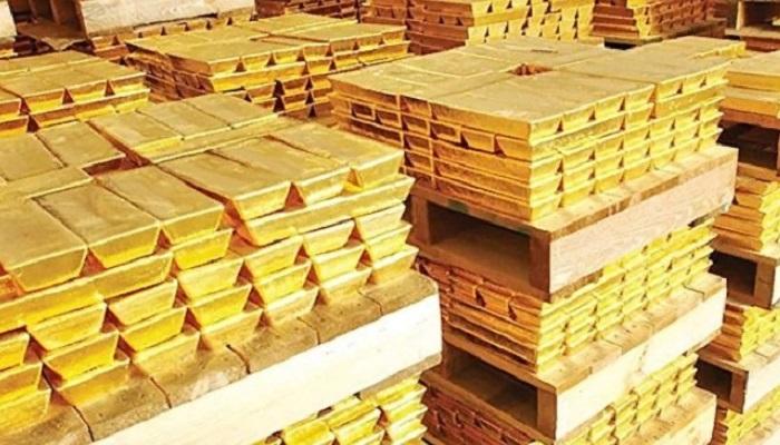 золото России,слитки