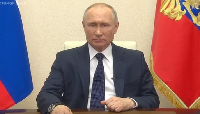 Путин по коронавирусу