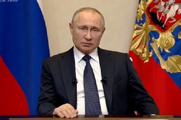 Выступление Путина по коронавирусу